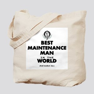 Best Maintenance Man in the World Tote Bag